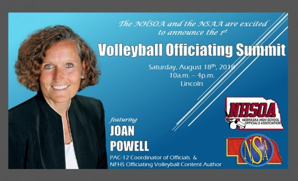 Volleyball Officiating Summit featuring Joan Powell